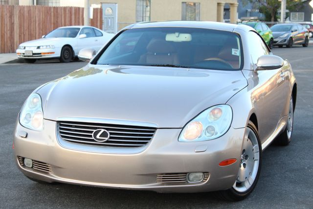 2003 Lexus SC 430 NAVIGATION XENON TIMING BELT IS DONE SERVICE RECORDS AVILABLE in Van Nuys, CA 91406