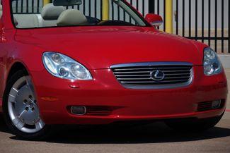 2003 Lexus SC 430 Navigation * XENONS * Mark Levinson * RED / ECRU * Plano, Texas 20