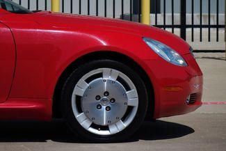 2003 Lexus SC 430 Navigation * XENONS * Mark Levinson * RED / ECRU * Plano, Texas 29