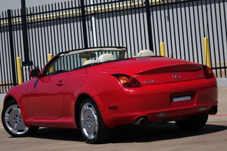 2003 Lexus SC 430 Navigation * XENONS * Mark Levinson * RED / ECRU * Plano, Texas 5