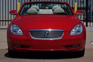 2003 Lexus SC 430 Navigation * XENONS * Mark Levinson * RED / ECRU * Plano, Texas 6