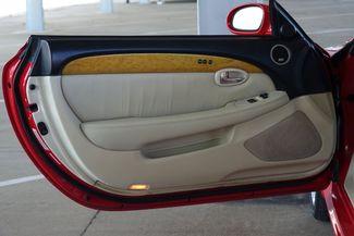 2003 Lexus SC 430 Navigation * XENONS * Mark Levinson * RED / ECRU * Plano, Texas 16