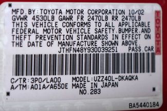 2003 Lexus SC 430 Navigation * XENONS * Mark Levinson * RED / ECRU * Plano, Texas 43