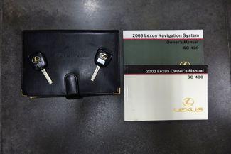 2003 Lexus SC 430 Navigation * XENONS * Mark Levinson * RED / ECRU * Plano, Texas 41