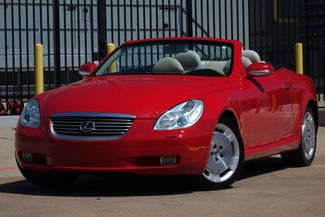 2003 Lexus SC 430 Navigation * XENONS * Mark Levinson * RED / ECRU * Plano, Texas 1