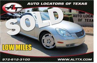 2003 Lexus SC 430   | Plano, TX | Consign My Vehicle in  TX