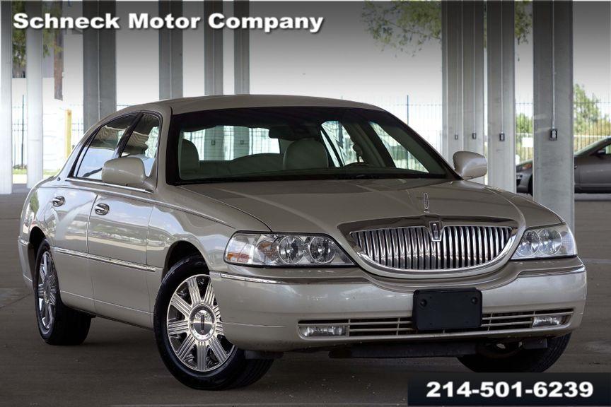 2003 Lincoln Town Car Cartier Premium Plano Tx Schneck Motor Company