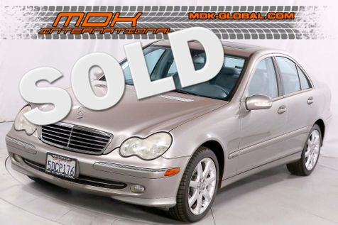 2003 Mercedes-Benz C230 1.8L - Supercharged - Only 82K miles in Los Angeles