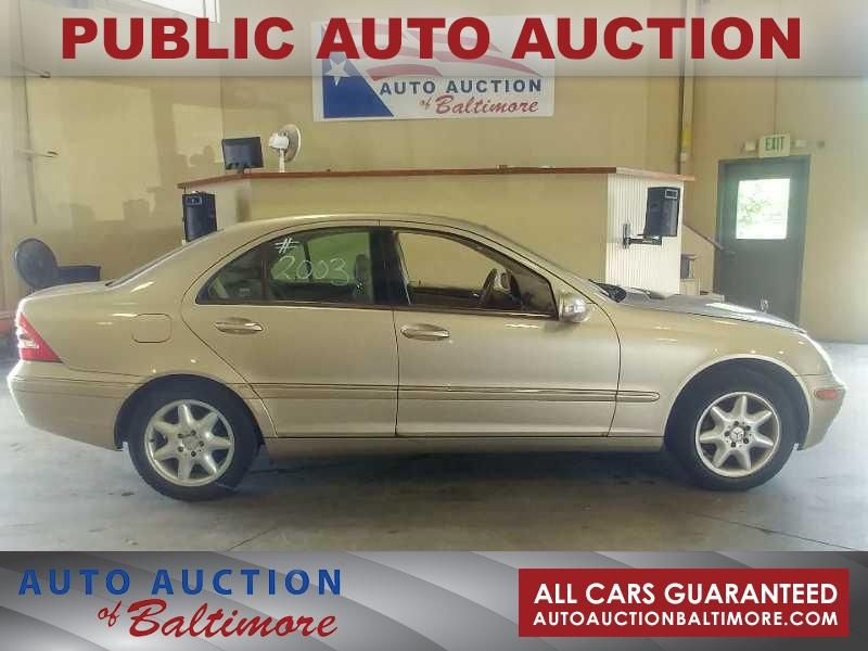 2003 Mercedes Benz C240 2.6L | JOPPA, MD | Auto Auction Of Baltimore