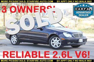 2003 Mercedes-Benz C240 2.6L Santa Clarita, CA