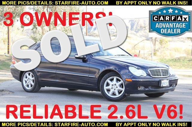 2003 Mercedes-Benz C240 2.6L Santa Clarita, CA 0