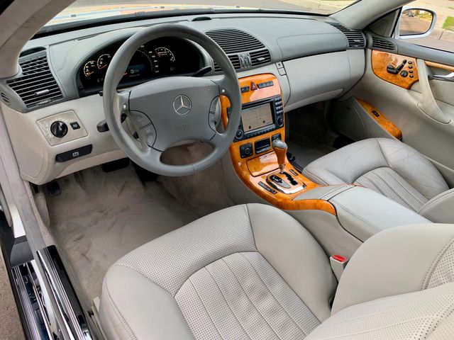 2003 Mercedes-Benz CL55 5.5L AMG COUPE NAVIGATION XENON SERVICE RECORDS in Van Nuys, CA 91406