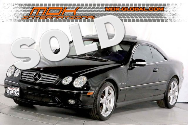 2003 Mercedes-Benz CL55