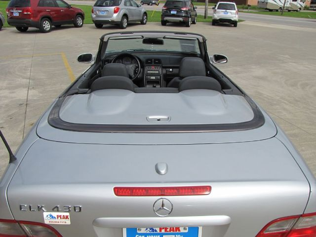 2003 Mercedes-Benz CLK430 4.3L in Medina, OHIO 44256