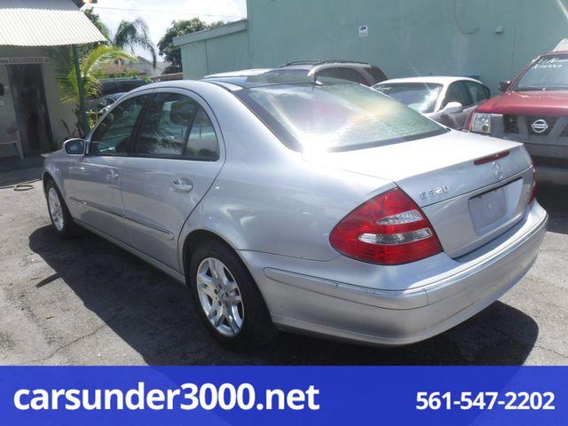 2003 Mercedes-Benz E320 3.2L Lake Worth , Florida 2