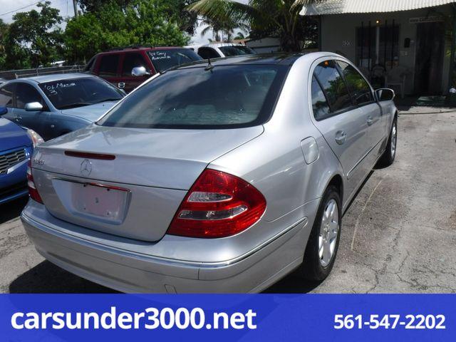 2003 Mercedes-Benz E320 3.2L Lake Worth , Florida 3