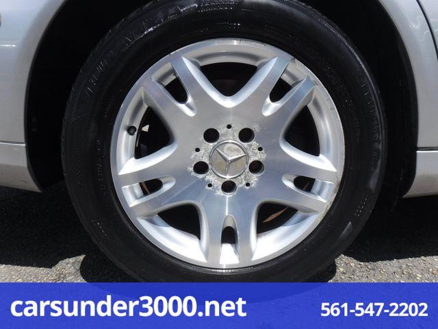 2003 Mercedes-Benz E320 3.2L Lake Worth , Florida 8