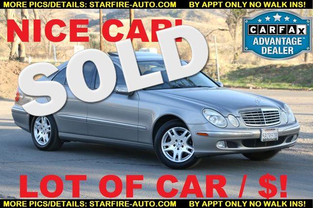 2003 Mercedes-Benz E320 3.2L Santa Clarita, CA