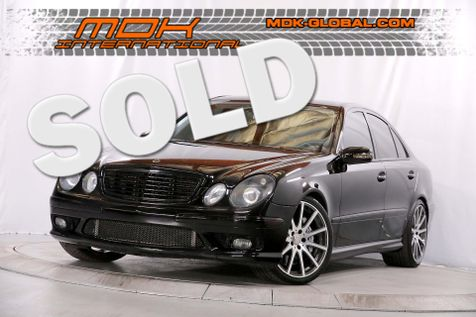 2003 Mercedes-Benz E55 5.5L AMG - Navigation - Upgraded wheels in Los Angeles
