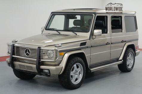 2003 Mercedes-Benz G500 PRESTINE ORIGINAL! LOW MILES! NEW TIRES! | Denver, CO | Worldwide Vintage Autos in Denver, CO