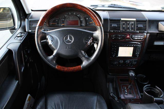2003 Mercedes-Benz G500 NAVIGATION SERVICE RECORDS in Woodland Hills CA, 91367
