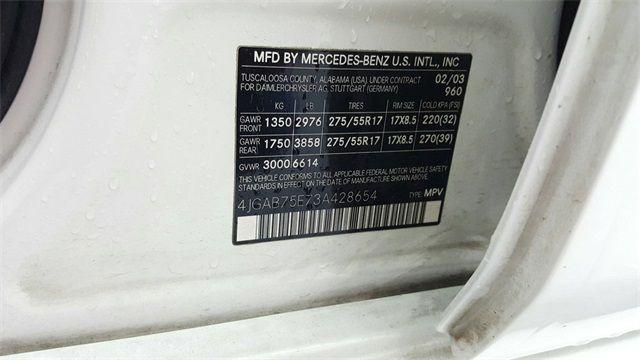 2003 Mercedes-Benz M-Class ML 500 4MATIC in McKinney Texas, 75070