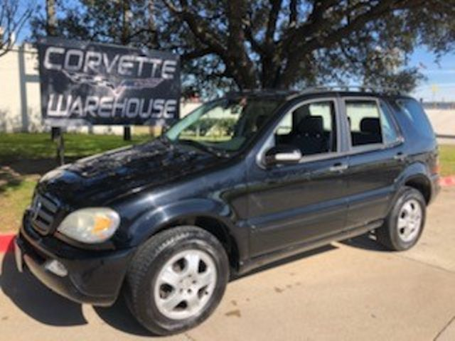 2003 Mercedes-Benz ML350 3.7L Auto, CD Player, Alloy Wheels, NICE! | Dallas, Texas | Corvette Warehouse  in Dallas Texas