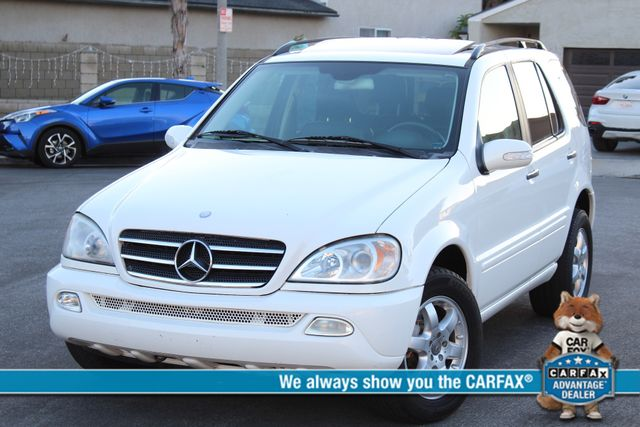2003 Mercedes-Benz ML500 SPORT UTILITY NAVIGATION SERVICE RECORDS SUNROOF in Woodland Hills, CA 91367