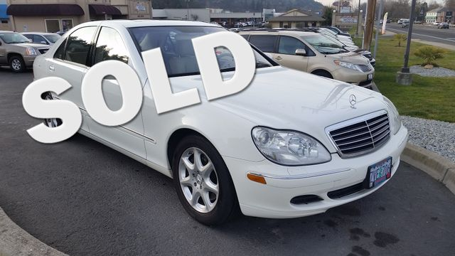 2003 Mercedes-Benz S430 4Matic 4.3L | Ashland, OR | Ashland Motor Company in Ashland OR
