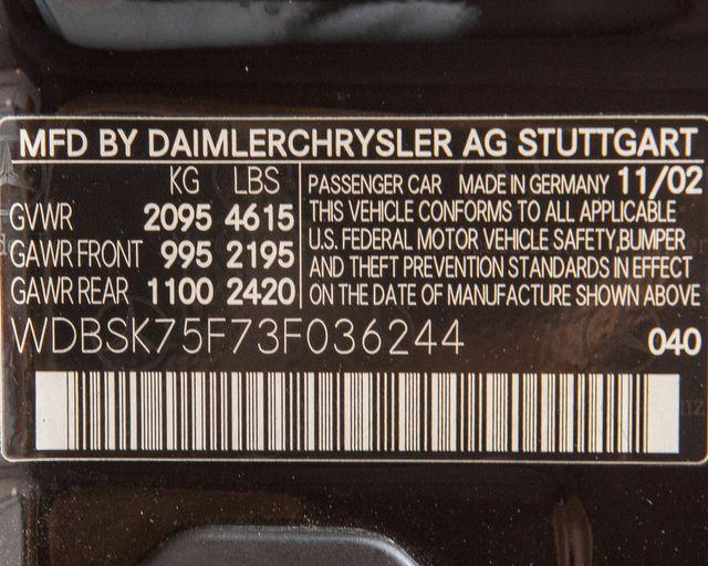 2003 Mercedes-Benz SL500 Burbank, CA 24