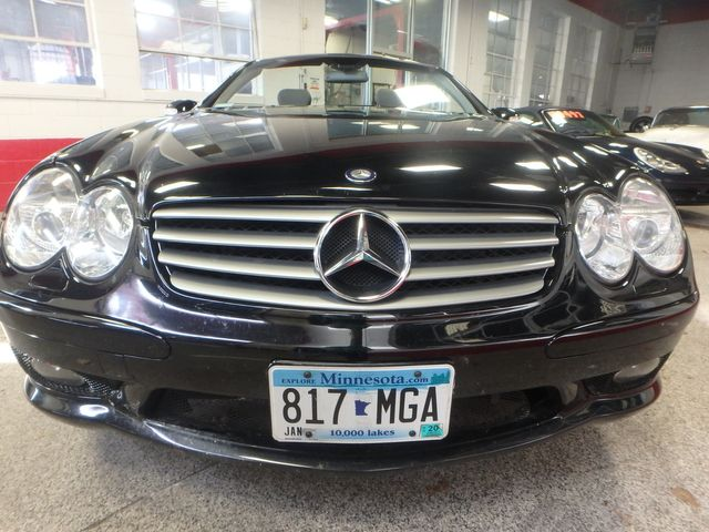 2003 Mercedes Sl500 HARD TOP CABRIOLET. LOW MILES, SHARP! Saint Louis Park, MN 24