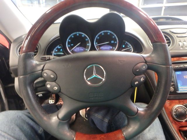 2003 Mercedes Sl500 HARD TOP CABRIOLET. LOW MILES, SHARP! Saint Louis Park, MN 4