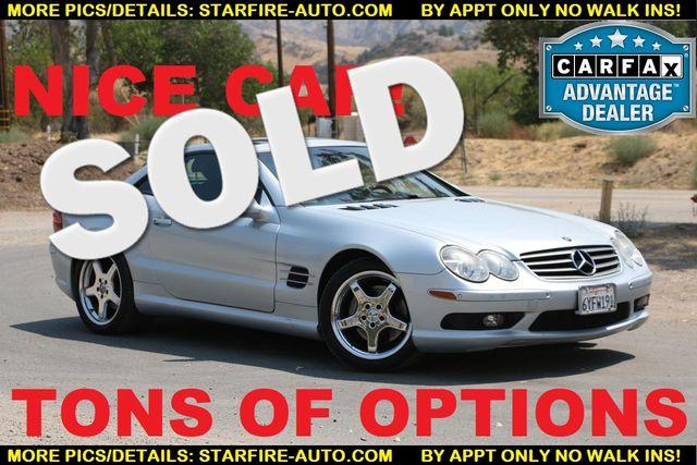 2003 Mercedes-Benz SL500 SPORT PKG Santa Clarita, CA