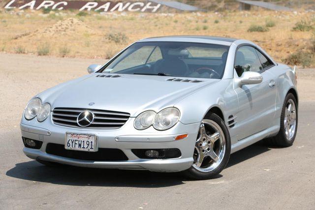 2003 Mercedes-Benz SL500 SPORT PKG Santa Clarita, CA 4