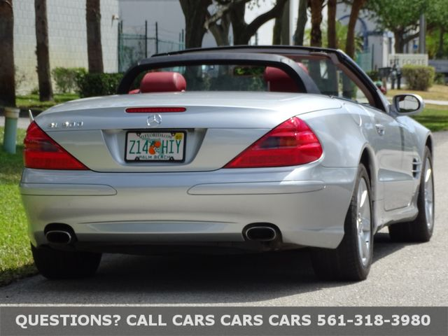 2003 Mercedes-Benz SL500 in West Palm Beach, Florida 33411