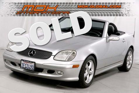2003 Mercedes-Benz SLK320 3.2L - V6 - Service records - Only 65K miles in Los Angeles