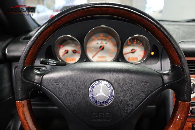 2003 Mercedes-Benz SLK320 3.2L Merrillville, Indiana 15