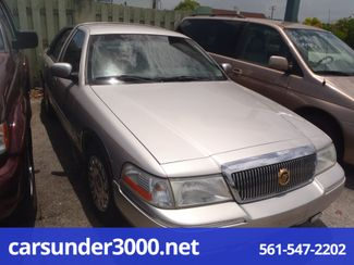2003 Mercury Grand Marquis GS Lake Worth , Florida