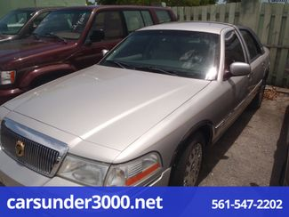 2003 Mercury Grand Marquis GS Lake Worth , Florida 1