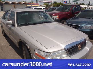 2003 Mercury Grand Marquis GS Lake Worth , Florida 2