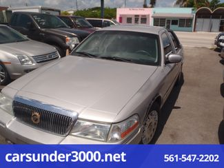 2003 Mercury Grand Marquis GS Lake Worth , Florida 3