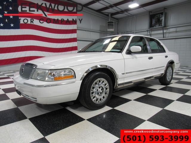 2003 Mercury Grand Marquis GS Convenience White Low Miles Cloth V8 CLEAN