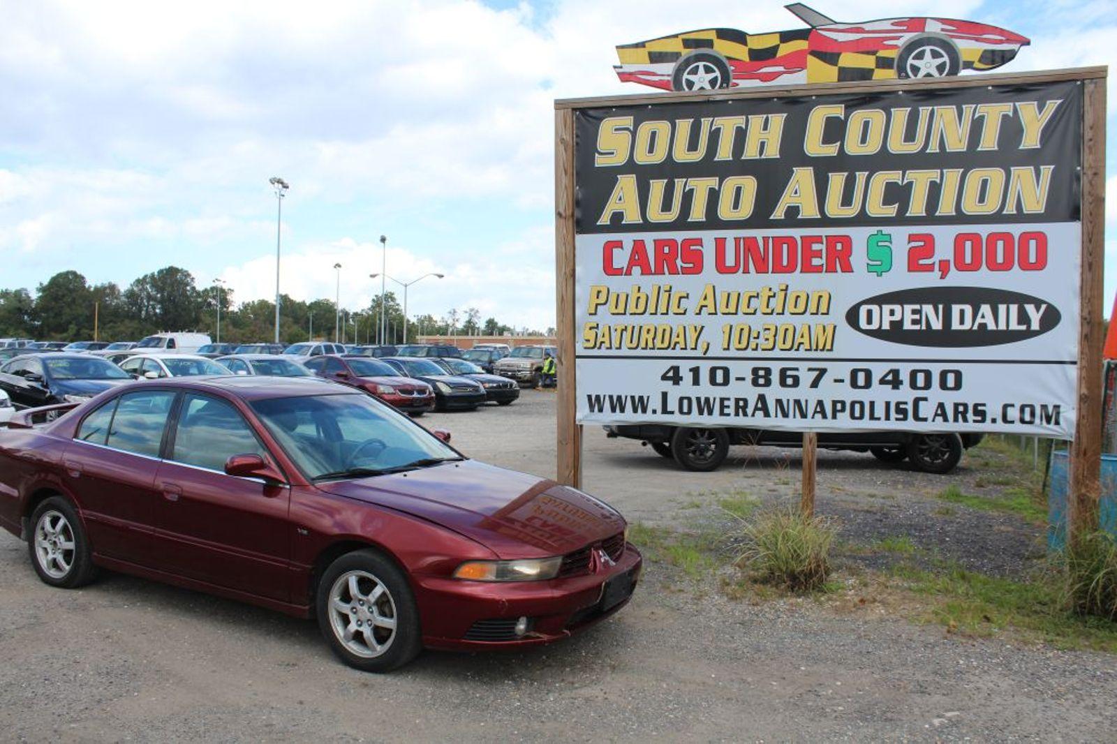 2003 Mitsubishi Galant Es City Md South County Public Auto Auction
