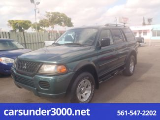 2003 Mitsubishi Montero Sport LS Lake Worth , Florida