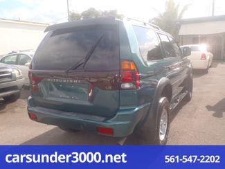 2003 Mitsubishi Montero Sport LS Lake Worth , Florida 2