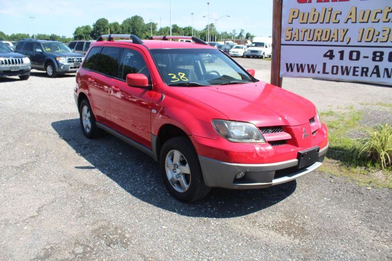 2003 Mitsubishi Outlander XLS  city MD  South County Public Auto Auction  in Harwood, MD