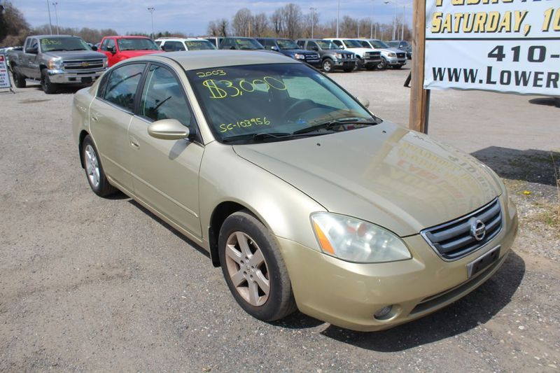 2003 Nissan Altima S  city MD  South County Public Auto Auction  in Harwood, MD