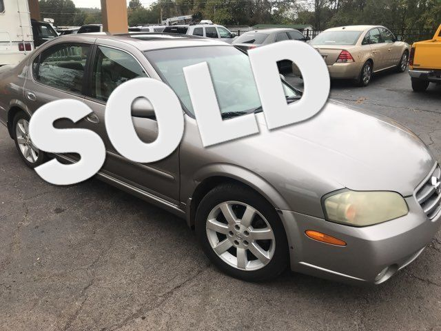 2003 Nissan Maxima GLE Knoxville, Tennessee