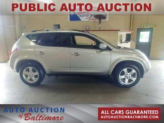 2003 Nissan Murano SE   JOPPA, MD   Auto Auction of Baltimore  in Joppa MD