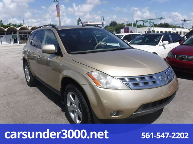 2003 Nissan Murano SL Lake Worth , Florida